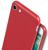 Caudabe Sheath iPhone 8 hoesje Rood