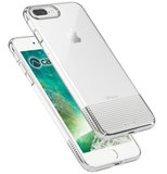Caudabe Lucid Clear iPhone 8 Plus hoes Zilver