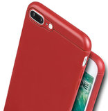 Caudabe Sheath iPhone 8 Plus hoes Rood