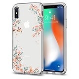 Spigen Liquid Crystal iPhone X hoesje Nature