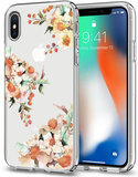 Spigen Liquid Crystal iPhone X hoesje Rose