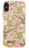 iDeal of Sweden iPhone X hoesje Champagne Birds