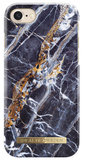iDeal of Sweden iPhone 8/7 hoesje Marble Blauw