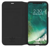 Adidas Booklet iPhone X hoesje Zwart