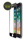 ArtWizz Curved iPhone 8 Plus Glass screenprotector Zwart