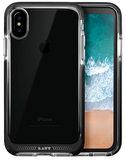 LAUT Fluro iPhone X hoesje Zwart