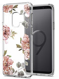 Spigen Liquid Crystal Galaxy S9 hoesje Flowers