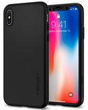 Spigen Thin Fit 360 iPhone X hoesje Zwart