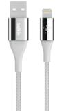 Belkin DuraTek Lightning naar USB kabel Zilver