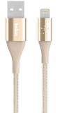 Belkin DuraTek Lightning naar USB kabel Goud