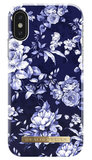 iDeal of Sweden iPhone X hoesje Blue Bloom