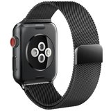 TechProtection Metal Apple Watch 44 / 42 mm bandje Zwart