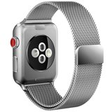 TechProtection Metal Apple Watch 44 / 42 mm bandje Zilver