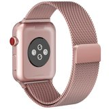 TechProtection Metal Apple Watch 44 / 42 mm bandje Rose