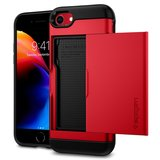 Spigen Slim Armor CS iPhone 8 hoesje Rood