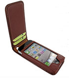 Piel Frama Magnetic iPhone 4/4S Croco Brown