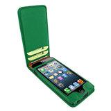 Piel Frama Magnetic iPhone SE/5S Green