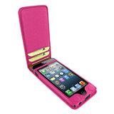 Piel Frama Magnetic iPhone SE/5S Fuchsia