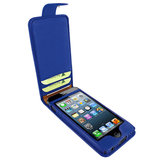 Piel Frama Leather Snap case iPhone 5/5S Dark Blue