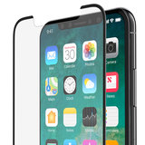 Belkin UltraCurve iPhone X Glass screenprotector Zwart