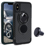 Rokform Crystal iPhone X hoesje Carbon