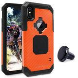 Rokform Rugged iPhone X hoesje Oranje