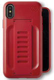 Grip2U Boost iPhone X hoesje Rood