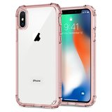 Spigen Crystal Shell iPhone X hoesje Rose