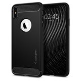 Spigen Rugged Armor iPhone XS Max hoesje Zwart