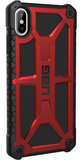 UAG Monarch iPhone XS Max hoes Rood