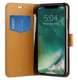 Xqisit Slim Wallet iPhone XS Max hoesje Zwart