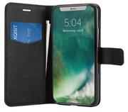 Xqisit Viskan Wallet iPhone XS Max hoesje Zwart