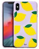 LAUT Tutti Frutti iPhone Xs Max hoesje Limoen