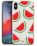LAUT Tutti Frutti iPhone Xs Max hoesje Watermeloen