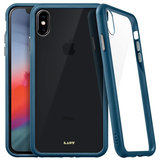 LAUT Accents Glass iPhone Xs Max hoesje Blauw