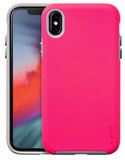 LAUT Shield iPhone Xs Max hoesje Roze