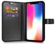 BeHello Gel Wallet iPhone Xs Max hoesje Zwart