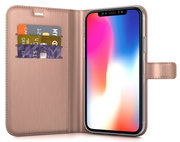 BeHello Gel Wallet iPhone Xs Max hoesje Rose