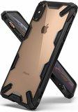 Ringke Fusion iPhone Xs Max hoesje Zwart