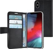 Azuri Wallet iPhone XS Max hoesje Zwart