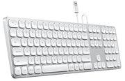 Satechi Aluminium Wired toetsenbord Zilver
