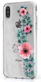 BeHello Gel iPhone Xs Max hoesje Flower