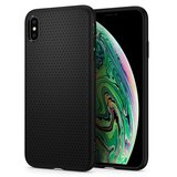 Spigen Liquid Air iPhone XS Max hoesje Zwart