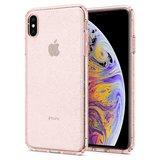 Spigen Liquid Crystal iPhone XS Max hoesje Glitter Roze