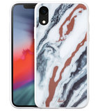 LAUT Mineral Glass iPhone XR hoesje Wit