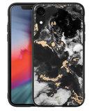 LAUT Mineral Glass iPhone XR hoesje Zwart