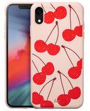 LAUT Tutti Frutti iPhone XR hoesje Kers