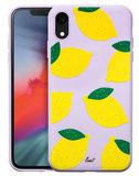 LAUT Tutti Frutti iPhone XR hoesje Limoen