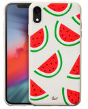 LAUT Tutti Frutti iPhone XR hoesje Watermeloen