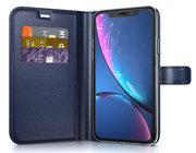BeHello Gel Wallet iPhone XR hoesje Blauw